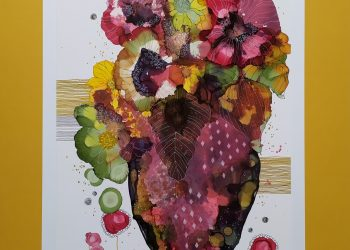 Kvety babieho leta l. - Kombin. technika