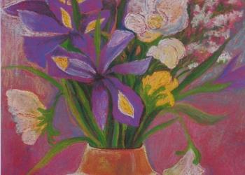 Irisy a frézie