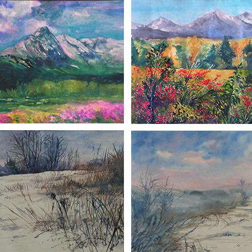 Galéria akvarelov